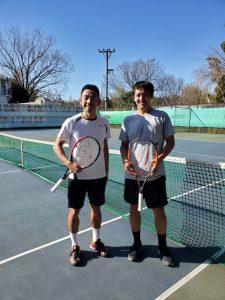 鈴木貴男プロと伊藤竜馬プロが練習されました!