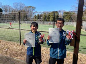 【プレイヤーズ活動情報】東京都選抜ジュニアテニス選手権大会