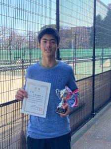 【プレイヤーズ活動情報】第21回東京都冬季ジュニアテニス選手権大会