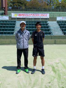 【プレイヤーズ活動情報】MUFG全国ジュニアテニストーナメント2021